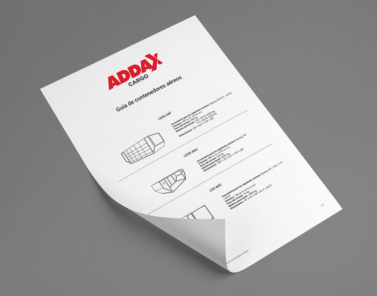 Addax Cargo print