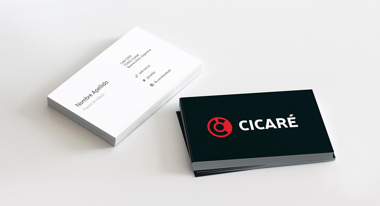 Cicaré tarjetas