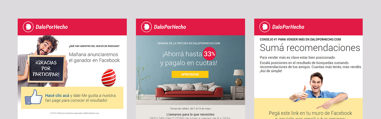 Dalo Por Hecho mails marketing